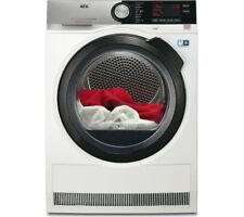 AEG T8DSC849R Freestanding 8kg A++ Rated Heat Pump Tumble Dryer in White