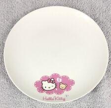 Hello Kitty Small Ceramic Side Plate 19cm Hachette Partworks Sanrio 2010