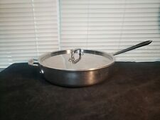 All-Clad 3 Quart Stainless Steel Saute Pan with Lid