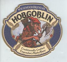 UNUSED BEERMAT - WYCHWOOD - HOBGOBLIN RUBY BEER  (Cat 036) - 2013