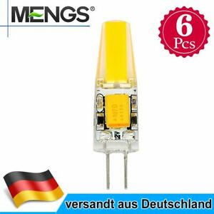 6pcs G4 LED 3W Stiftsockellampe Lampe SMD Warmweiß Glühbirne AC/DC 12V 150lm A+