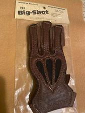 American Leathers Big Shot Archery Shooting Glove Elk Leather