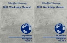 Service Repair Manuals For 2001 Ford Expedition For Sale Ebay