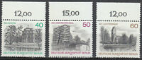 West Berlin 1978 Mi 578-580 Sc 9N422-424 MNH set.Old buildings Views type **