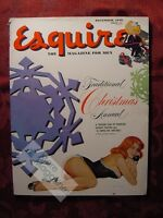 ESQUIRE December 1949 Al Moore Pinup Edgar Degas New York City Bel Kaufman