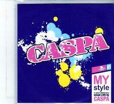 (DU692) Caspa, My Style - 23 tracks mixed live - 2010 DJ CD