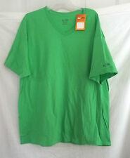 MEN'S WOMEN'S BOYS CHAMPION PLAIN TSHIRT SHIRT COTTON NEW NEON GREEN T-SHIRT XL