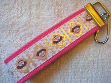 GIRL SOCK MONKEY Key Fobs (really cute keychains)
