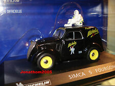 Simca 5 Fourgonnette Michelin 1 43
