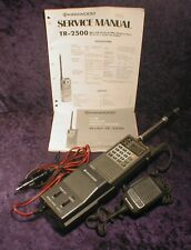 Kenwood TR-2500 2m FM Synthesized Hand-Held Transceiver Ham Radio With Manual