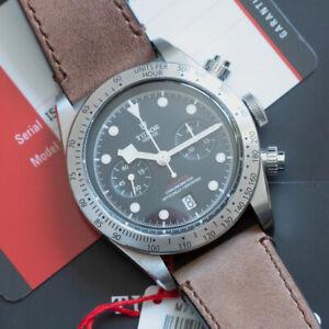 Tudor Heritage Black Bay Chronograph | 79350 | 2020 | 41mm | Full UK set