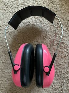 Peltor Tactical Hearing Protector Headset Shooting Practice Pink Color Ear Muffs