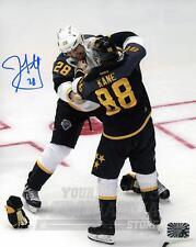 John Scott Joe Pavelski Brent Burns Signed Autographed 2016 All-Star 8x10 Y