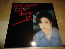 "MICHAEL JACKSON THEY DON T CARE ABOUT US 12"" HOLLAND 6 MIXES NO PROMO RARE"