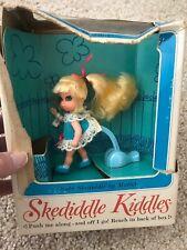 Skediddle Kiddle Doll (Suki) Vintage: New In Damaged Box
