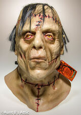 Mask The Monster Full Head Halloween Latex Character Mask With Hair