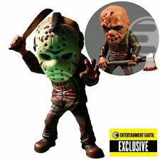 Jason Voorhees Friday The 13th Figure GLOW IN THE DARK Mask *Mezco Exclusive*