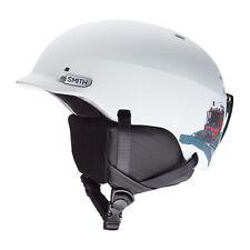 Smith Ski Helmet Snowboard Helmet Gage Junior White Plain Colour Ear Cushion