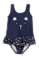 SOOKIBABY Kid Navy Blue Cute Bear Skirted Swimsuit 24 months NWT UPF 50+
