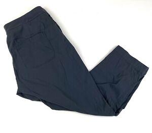 ATHLETA Womens Cropped Casual Pant Sz 12 Gray Pants