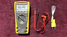 Fluke 179 *Excellent!* True Rms Multimeter With Temperature!