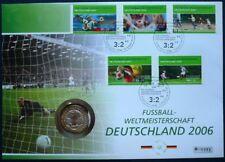 Deutschland Numisbrief Fussball WM 2006 mit Münze SILBER 2003