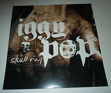 Iggy Pop~Skull Ring~Promo Poster Flat~Double Sided~12x12~Excellent~200 3