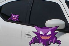 "Pokemon Haunter Anime 7"" Window Car Decal, Sticker, Pokemon Go"