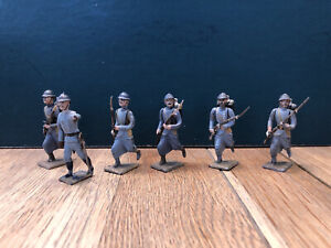 CBG Mignot: French Infantry Advancing. Pre War c1930