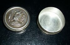 Egyptian Silver Antique Snuff box Funerary Item