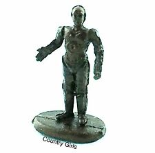Star Wars C3PO Droid Standing C-3PO Micro Machines Galoob Bronze Finish C3 P0 A