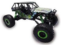 "RC Rock Crawler ""Crazy Crawler"" M 1:10 4WD proportionales Gas 41cm grün"