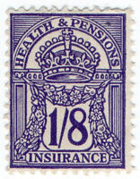 (I.B) George V Revenue : Health & Pensions Insurance 1/8d