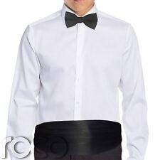 Boys black cummerbund & dickie bow set, Boys Accessories, Formal Wear
