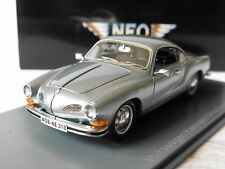 VOLKSWAGEN VW KARMANN GHIA TYP14 METAL LIGHT BLUE 1974 NEO 44310 1/43 LHD