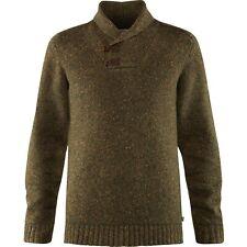 Fjällräven Lada Sweater caballeros-jersey de punto con clásico cuello bufanda