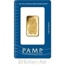 PAMP 20 Gram Gold Bar Minted