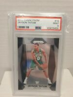 2017-18 Panini Prizm #16 Jayson Tatum Boston Celtics RC Rookie PSA 9 MINT