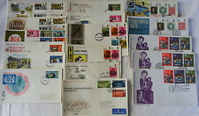 GB FDCs Collection 1970, 17 covers