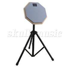 20x20x0.7cm Portable Practice Training Drum Pads & Adjustable Stand Set