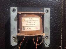 Übertrager Röhrenverstärker EL 84 SE Eintakt german Tube Output Transformer