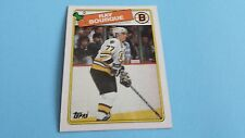 1988/89 TOPPS HOCKEY RAY BOURQUE CARD #73***BOSTON BRUINS***