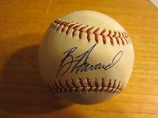 Ben Howard Autographed Signed Rawlings OML Baseball MLB Baseball Florida Marlins