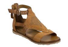 Miz Mooz Tessa Sandals, Wheat Brown Leather, Wm Sz 40