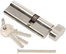 NEU Zylinder Schließzylinder Zylinderschlos 3-15 Schlüssel 30//30 Nickel Satin