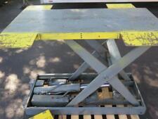 """SOUTHWORTH L4-36 ELECTRIC HYDRAULIC SCISSOR CAM LIFT TABLE 115V 4000 LB 53"""" x 40"""