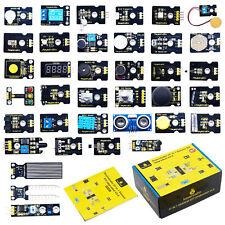 Keyestudio 37 In 1 Sensor Modules Starter Learning Kit Set For Arduino Uno Mega