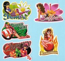 Spice Girls Sticker Set (15 Scented Scratch and Sniff Stickers) - Out of Print