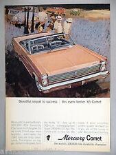 Mercury Comet PRINT AD - 1964 ~~ 1965 model