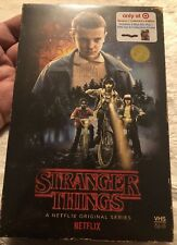 10x lot 🔥 STRANGER THINGS 🔥 New ! s1 Target Exclusive VHS Case Blu-Ray DVD 👀
